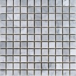 Bianco_Carrara-honed-1x1-mosaic