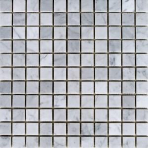 Bianco_Carrara-honed-1x1-mosaic