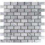Bianco_Carrara-honed-1x2-mosaic