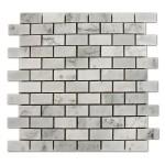 Carrara-Marble-Mosaic-1x2