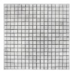 Carrara-Marble-Mosaic-5:8x5:8