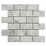 Carrara-Marble-Subway-Mosaic-2x4