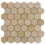 Crema-Marfil-Mosaic-Hexagon-2x2