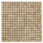 Crema-Marfil-Mosaic-half-by-half