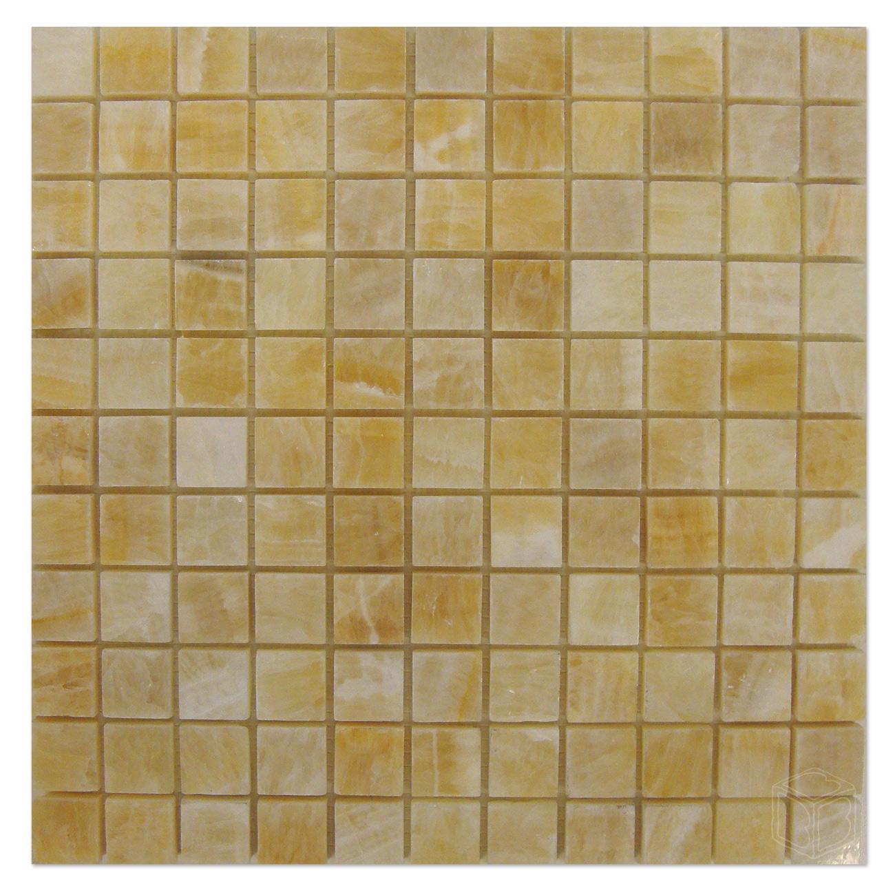 Honey Onyx Marble Tile 1 Polished